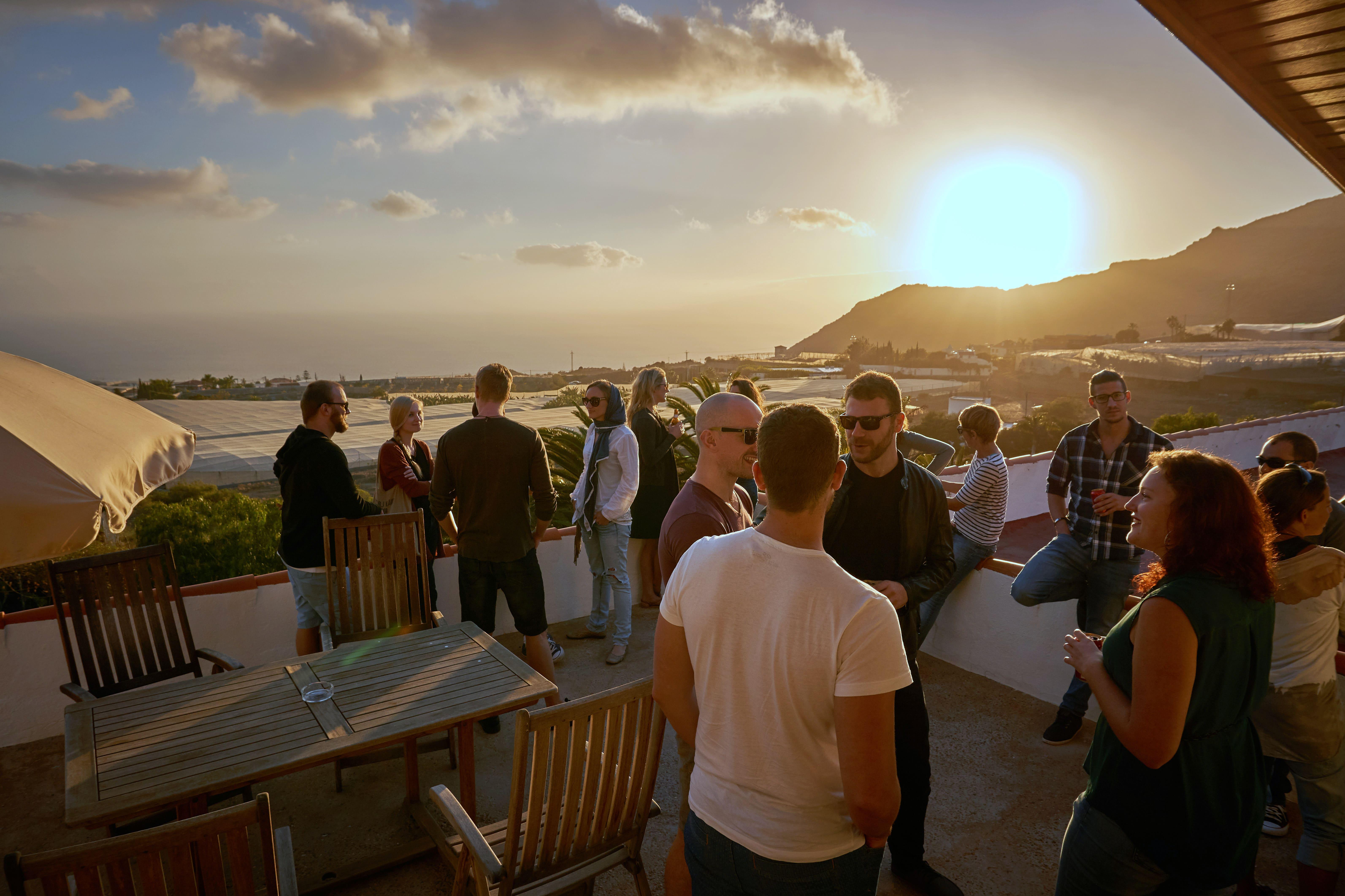 Martin Studenčan, Západ Slnka na Tenerife