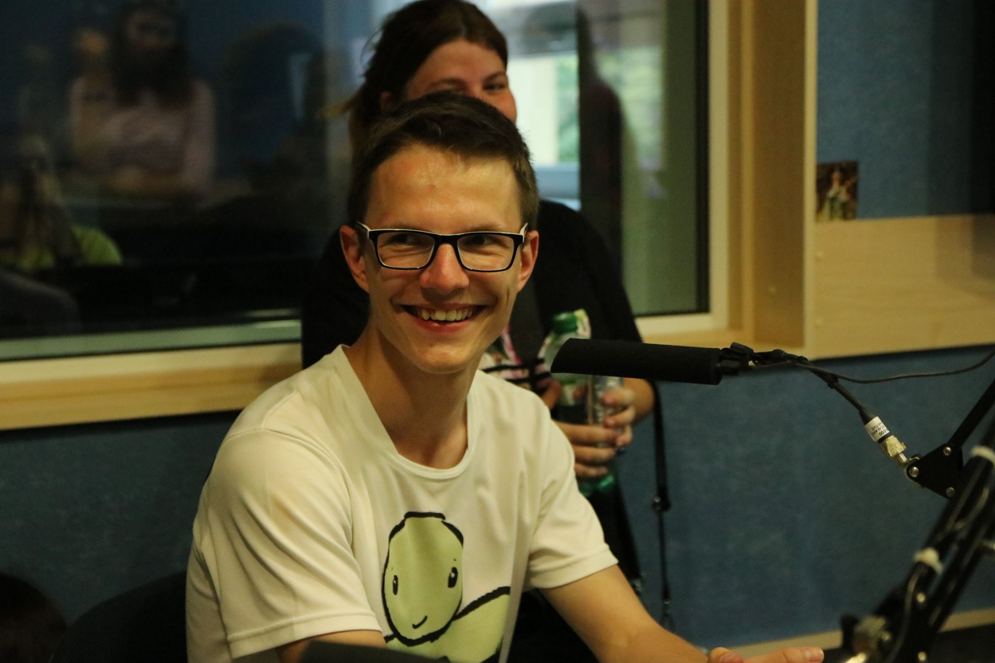 Jaro v rádiu o podujatí Hug Day