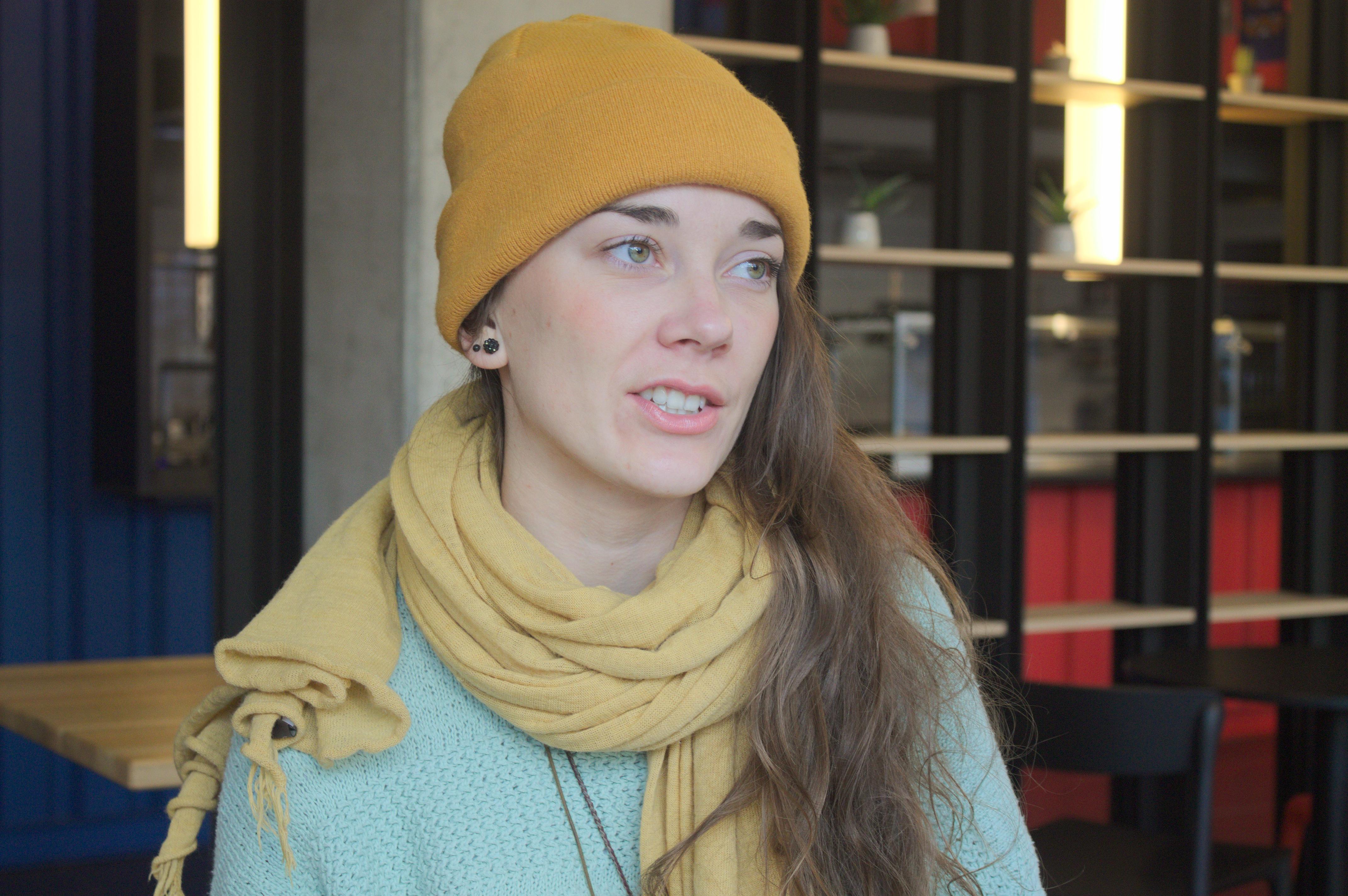 Maja Demjanovičová z PURE JUNK (Foto: Michaela Tomeková)