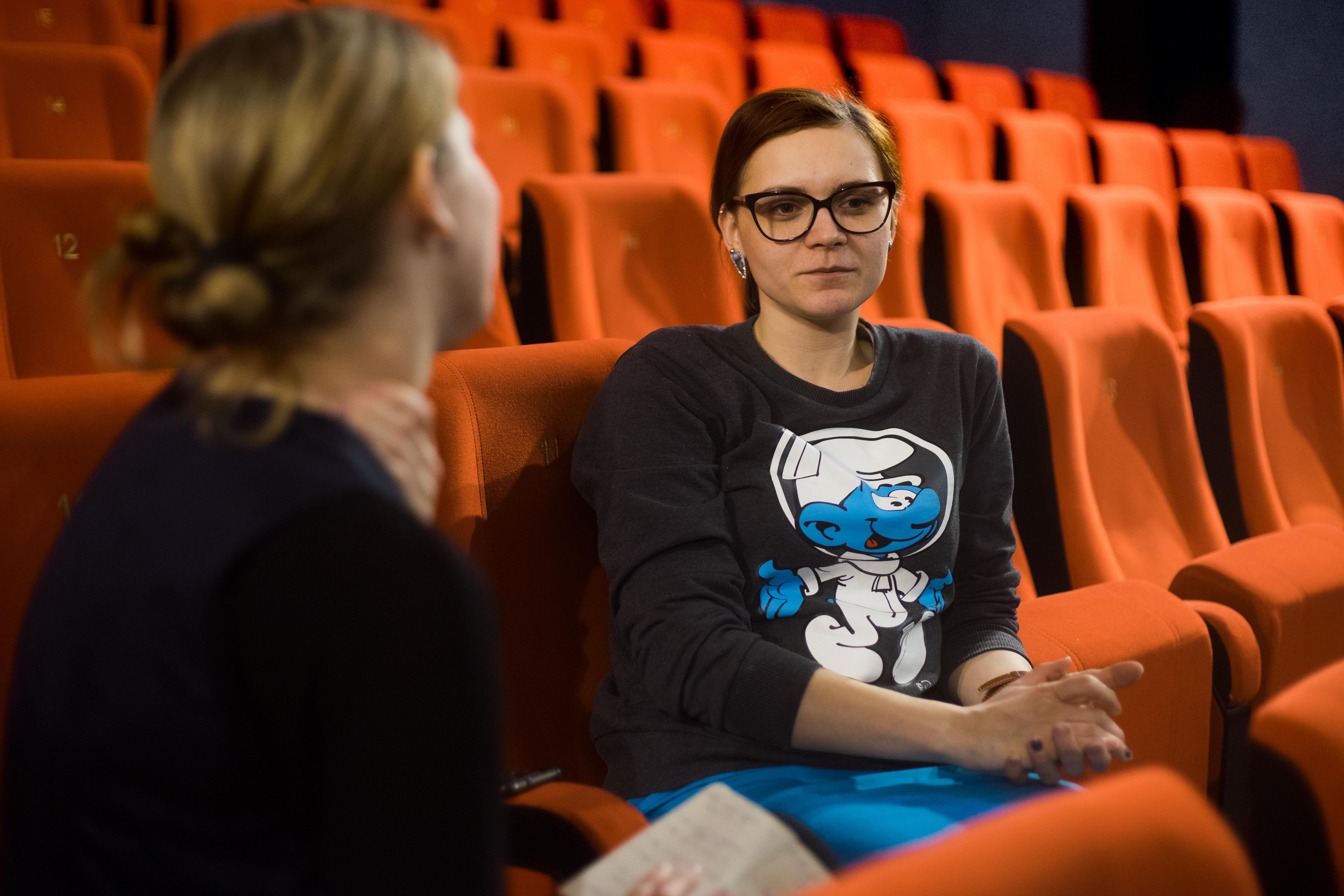 Ľubka Olejárová (vpravo)