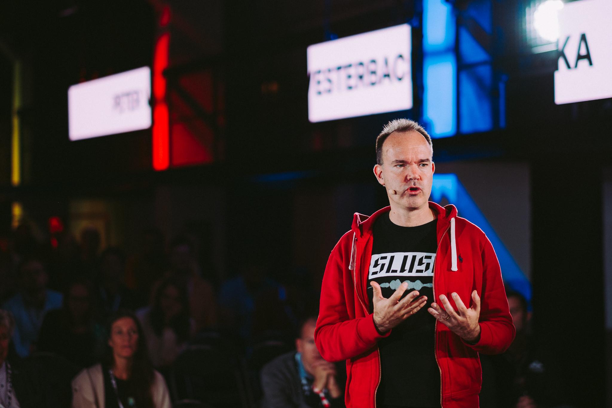 Peter Vestrebacka, zakladateľ Slush a spolutvorcu hry Angry Birds