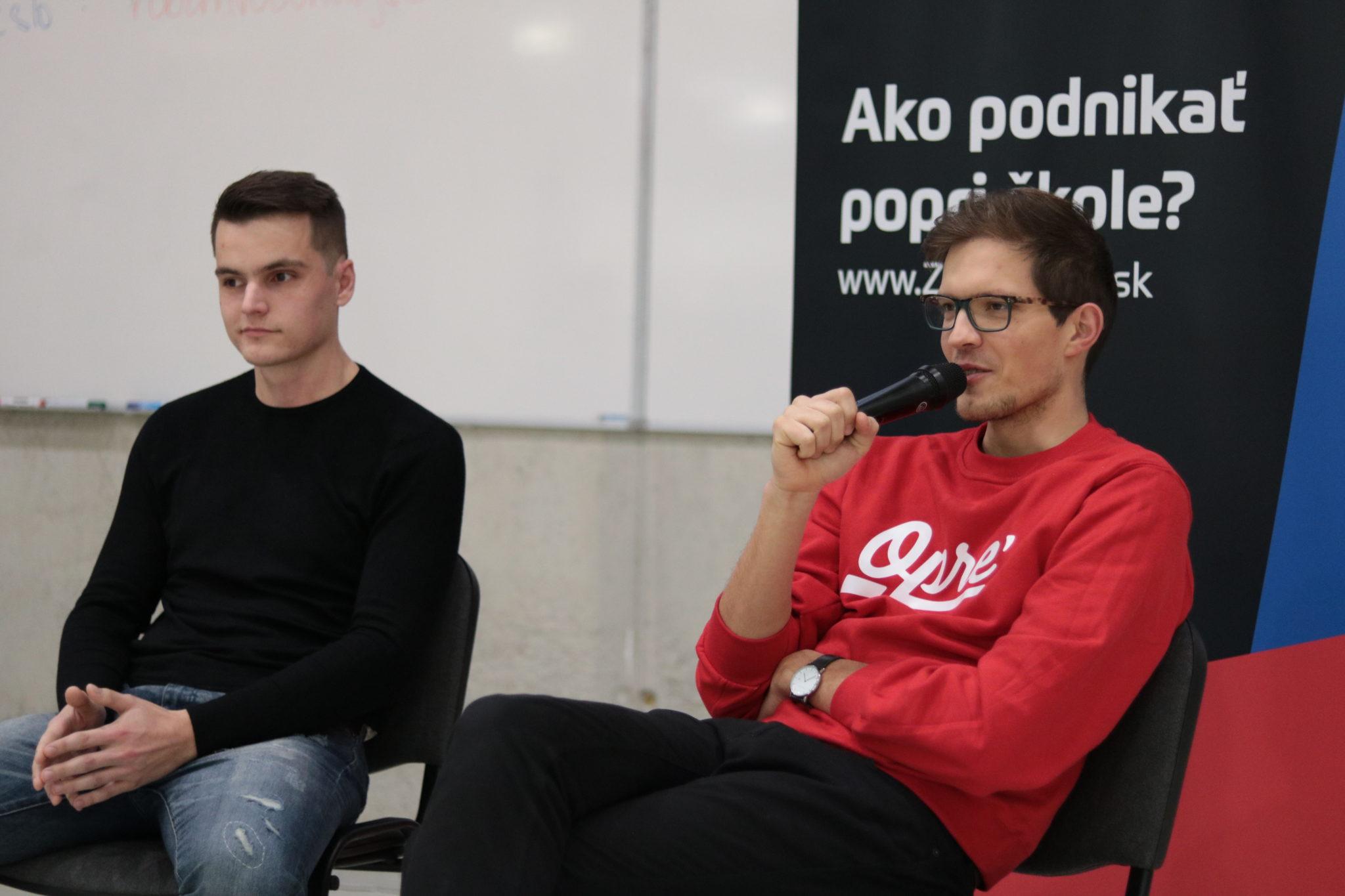 Frederik Dudáš (vľavo) a Gabriel Oprendek o svojich začiatkoch