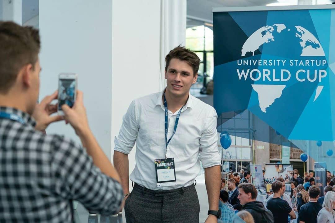 Martin Pekrčík na University Startup World Cup