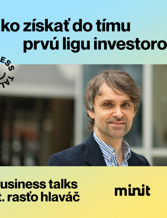 Business Talks w Rasťo Hlaváč