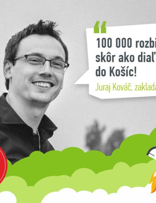 """Juraj Kováč z Rozbehni.sa: """"Nápady na podnikanie sú ako prvé lásky: nemusia vždy vyjsť a je to úplne v poriadku."""""""
