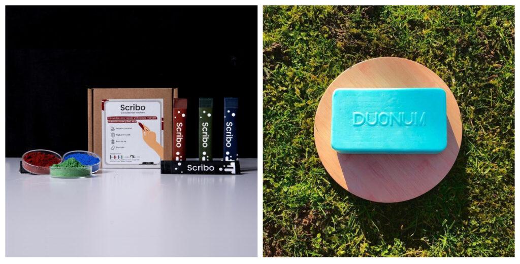 študentské firmy Scribo a Duonum